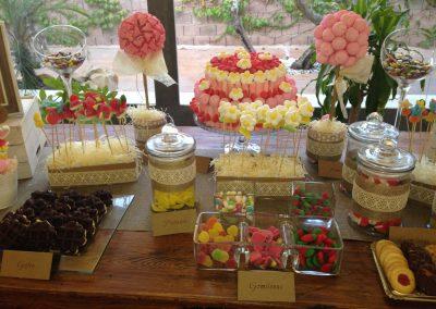Mesas de dulce y chuches para tus celebracioes con Candy