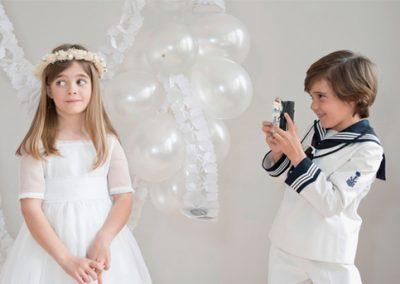 Photocall y fotomatón para comunión